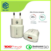 BATOK CHARGER 3A FAST CHARGING - ADAPTOR CHARGER QUICK CHARGE MR.ACC