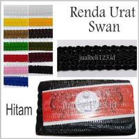Renda Urat Swan Brukat