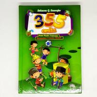 buku anak - 355 cerita anak muslim indonesia ( hard cover ) - zikrul