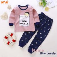 Pakaian Anak / Setelan / Import / Baju Anak - BTW Lovely - 6 bln - 1 Tahun