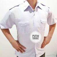 Seragam Kemeja Putih PHD, Baju PNS, Dinas Putih Pendek Panjang