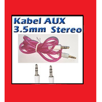 Kabel AUX Jack 3.5mm Male to Male Audio Cable High Quality
