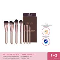Jacquelle Bronze Copper Brush Set