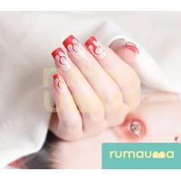 RUMAUMA Kuku Palsu Splendid Cantik Lucu Fake Nails 12 Tip Murah Cute