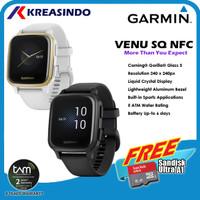 Garmin Venu SQ / Venu Square NFC Garansi Resmi TAM