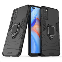 Casing Armor Ring Magnetic Case Oppo Reno 4