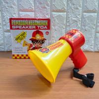 Mainan Anak Toa Sirine Pemadam Kebakaran - Toa Fire Rescue