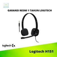 Logitech Stereo Headset H151 ORIGINAL DAN GARANSI RESMI