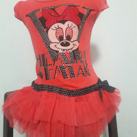 dress mini mouse anak korea