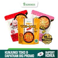Paket Lengkap Korinus K - Bunsik Tokpoki Spicy, Spicy Cheese, dan Mild