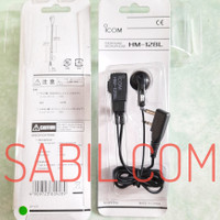 EARPHONE ORIGINAL HT ICOM V80 V88 U80L T70 ORIGINAL HM 128L ORIGINAL