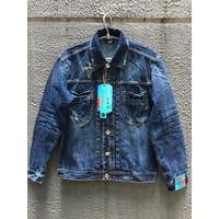 jaket jeans pria / jaket original /jaket werco / squad