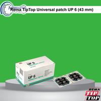 Rema TipTop Universal Patch UP6 Karet Koyok Tambal Ban TipTop 5125060