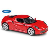 Welly Nex Alfa 4c Diecast 1:24 - Merah [MBW 498-MRH]