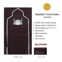 [FREE TASBIH] Sajadah Travel Saku Lipat Waterproof Motif KA'BAH - 070