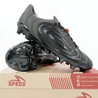 Sepatu Bola Specs Barricada Fuerza Pro FG Triple Black 101405 Original