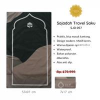 [FREE TASBIH] Sajadah Travel Saku Lipat PREMIUM WATERPROOF Murah - 057