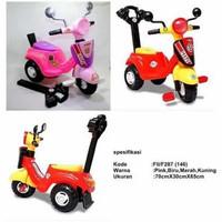 Mainan anak vespa motor happy vespa