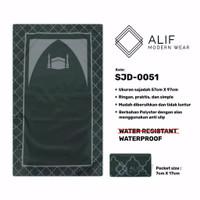 Sajadah Saku Anti Air | Sajadah Travel Lipat Alif Modern Wear SJD-0051