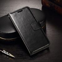 Oppo reno 4 flip wallet leather