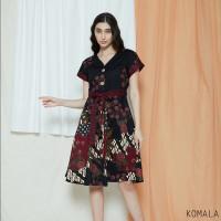 Komala Dress - Dress Batik Wanita Terusan Wanita