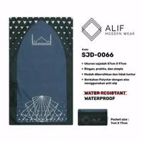 Sajadah Saku Anti Air | Sajadah Travel Lipat Alif Modern Wear SJD-0066