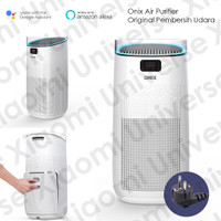 Onix Air Purifier Pro Penyaring Udara With True Hepa Filter Up To 50m2