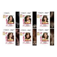 Loreal Paris Excellence Creme Hair Color Pewarna Semir Rambut /L'oreal - 4 BROWN
