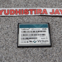Memory CF Card 2GB Virtium Original Compact Flash for Industrial