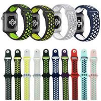 Nike strap sport band tali apple watch iwatch 1 2 3 4 5 6 rubber