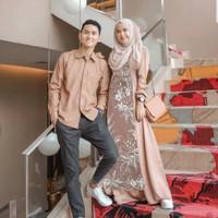 an baju couple kemeja gamis busana muslim fashion pria wanita