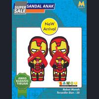 SANCU - Sandal Lucu Karakter Robot Iron Man