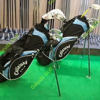 stick golf callaway junior iron set free stand bag 7 Tahun - 9Tahun