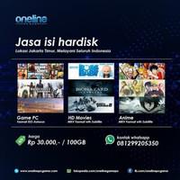 Pembayaran Copy Hardisk 650gb