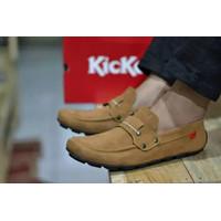 Sepatu Slip On Pria Kickers PAPARA Sepatu Casual Slop Pria Santai
