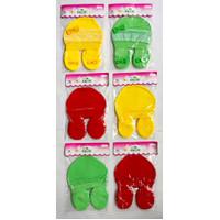 Okiyo ~ 2 Pcs Topi + Sepatu Bayi Set ( Renda ) SNI // Satu Ukuran