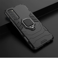 Casing Armor Ring Magnetic Case Oppo Reno 4 Pro