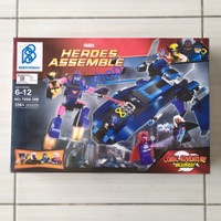 MAINAN ANAK LEGO/BLOCK HEROES ASSEMBLE ( SY308)