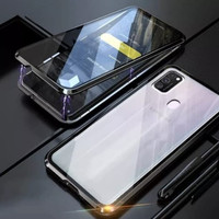 Samsung A21s double side magnetic case