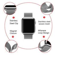 Milanese loop magnet strap apple watch iwatch series 6 5 4 3 2 1