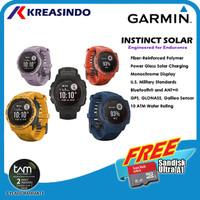 Garmin Instinct Solar Watch Garansi Resmi