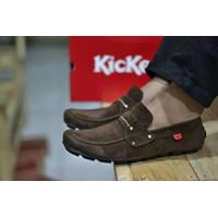 COD!! Sepatu Slip On Pria Kickers PAPARA sepatu Slop Pria Casual Murah