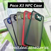 Xiaomi Poco X3 NFC Case Dove Kamera Matte Transparan Slim Fuze Macaron