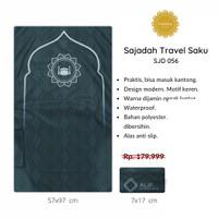 [FREE TASBIH] Sajadah Travel Saku Lipat PREMIUM WATERPROOF Murah - 056