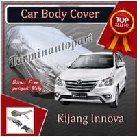 selimut sarung cover body mobil kijang innova free pengait ban PROMO !