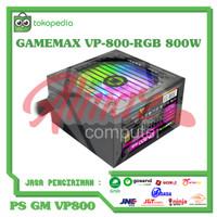 Power Supply GameMax VP-800-RGB 800Watt 85+ Bronze Eco Mode RGB PSU