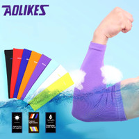 AOLIKES Arm Sleeve - Manset Tangan Sepeda - Arm Warmer - Elbow Support