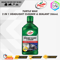 Turtle Wax HEADLIGHT CLEANER & SEALANT 266 mL