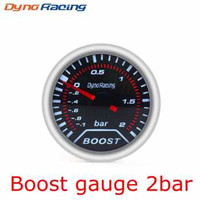 Dynoracing Dekorasi Mobil Car Decoration Boost Gauge 2 Bar - Q195