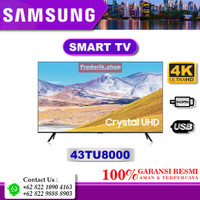 SAMSUNG 43TU8000 Crystal UHD 4K SMART TV HDR 10+ Bixby BlueTooth USB
